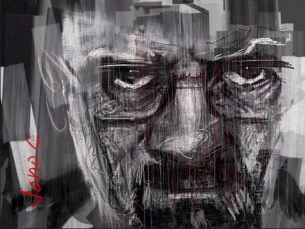 Breaking Bad iPad painting