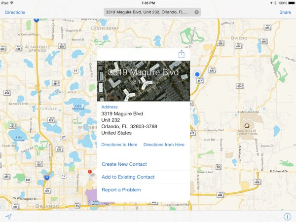 Navigate-Apple-Maps-iPad