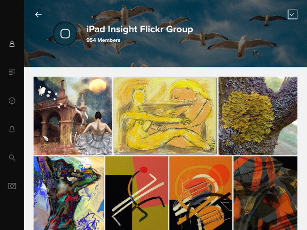 Flickr-iPad-groups
