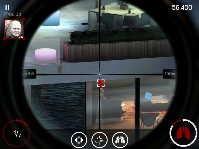 Review: Hitman Sniper for iPad