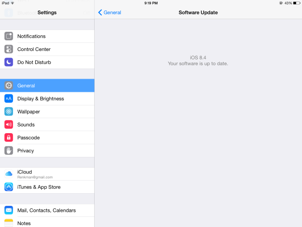 How to set-up iCloud on your iPad