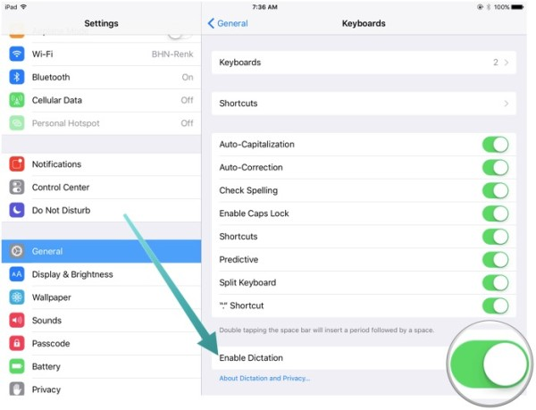 How to dictate more effectively on your iPad