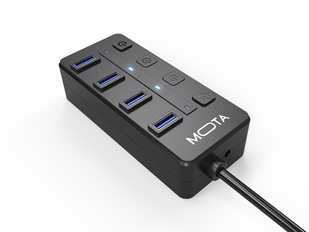 MOTA 4-Port USB 3.0 Hub