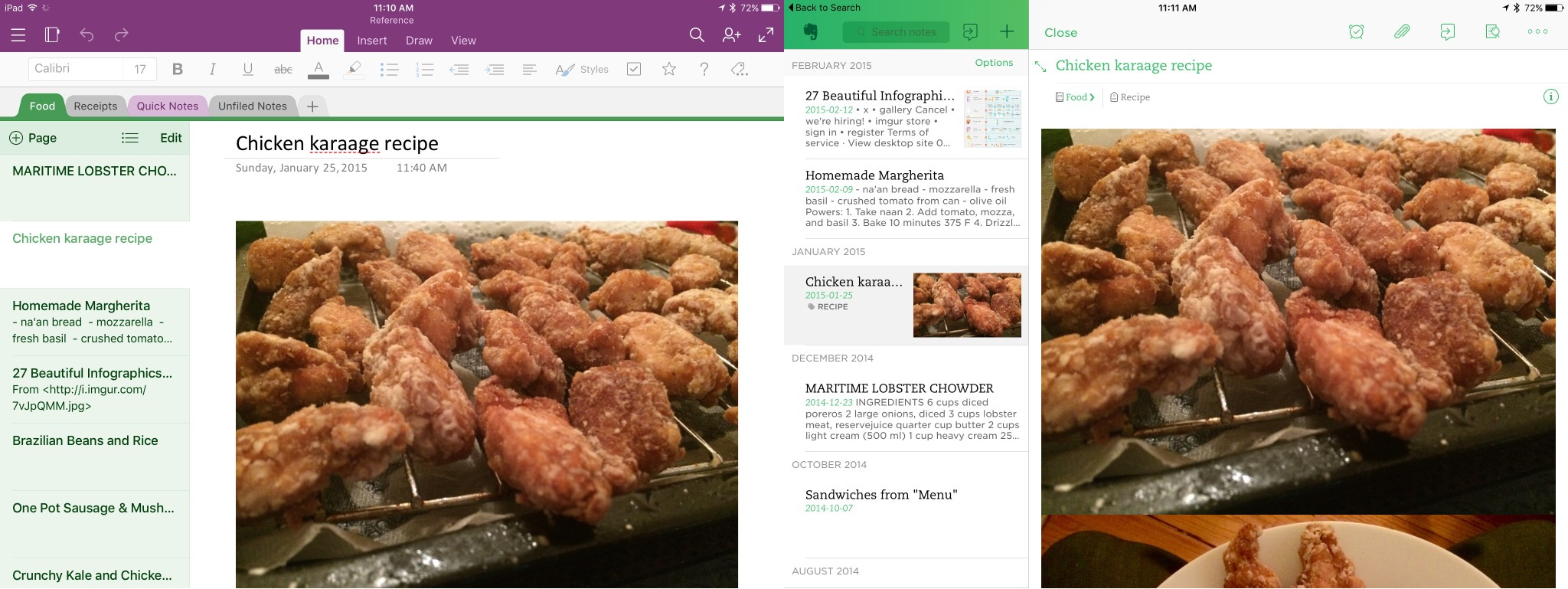 More Thoughts On OneNote for iPad