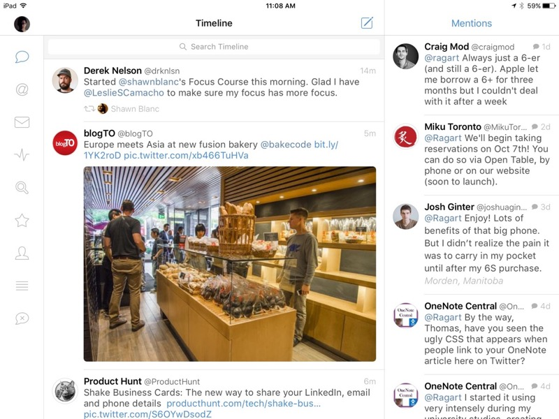 Quick Look: Tweetbot 4 for iPad