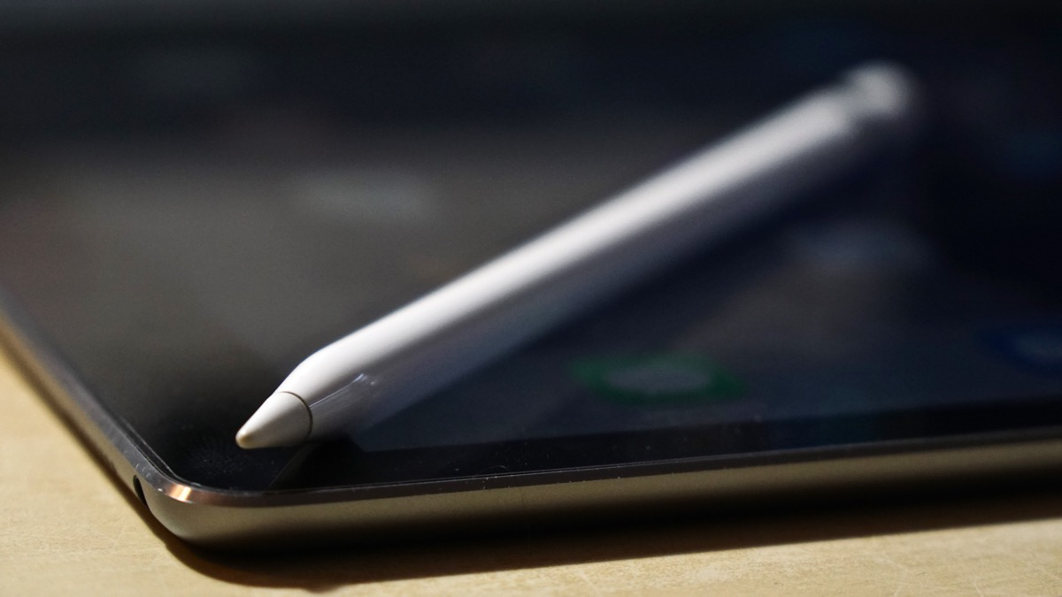 Apple Pencil handy
