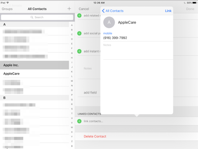 Unifying-Contacts-on-iPad