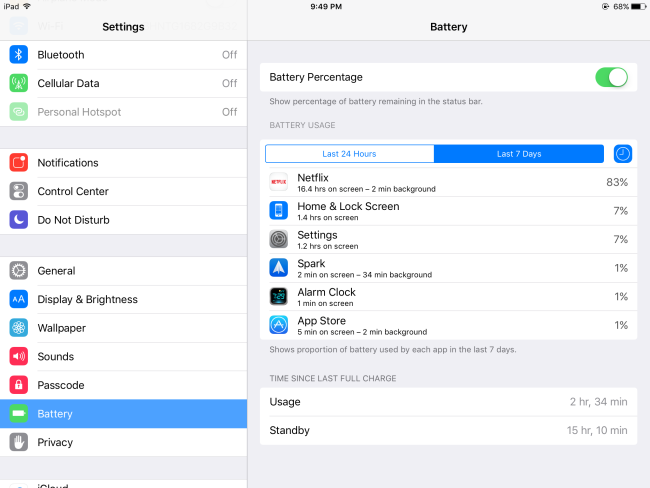 Battery-usage-on-iPad