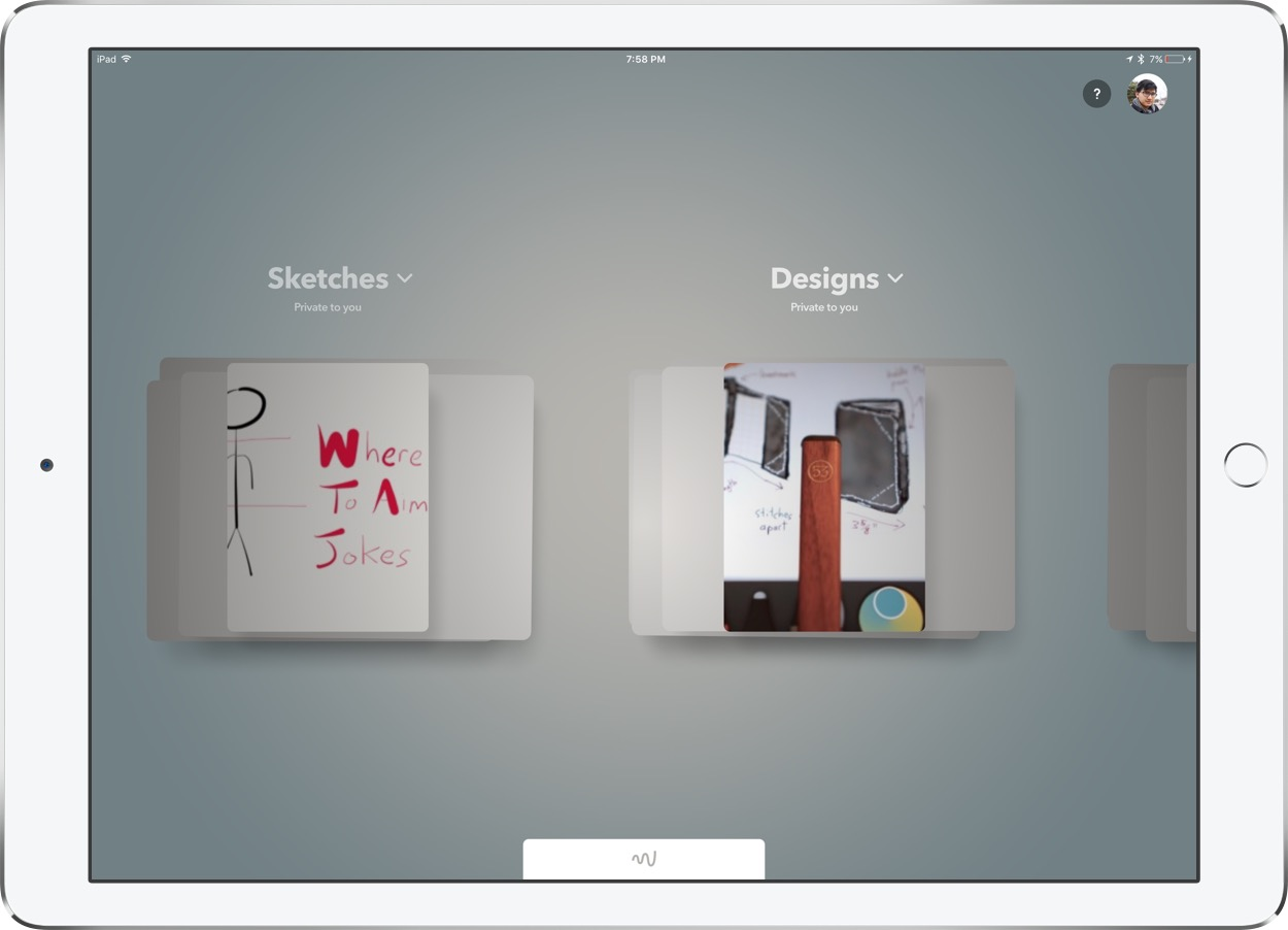 Organizing Spaces in Paper 3.5.4
