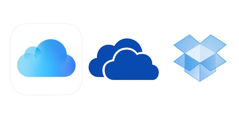 Cloud Storage on iOS: iCloud, OneDrive, and Dropbox