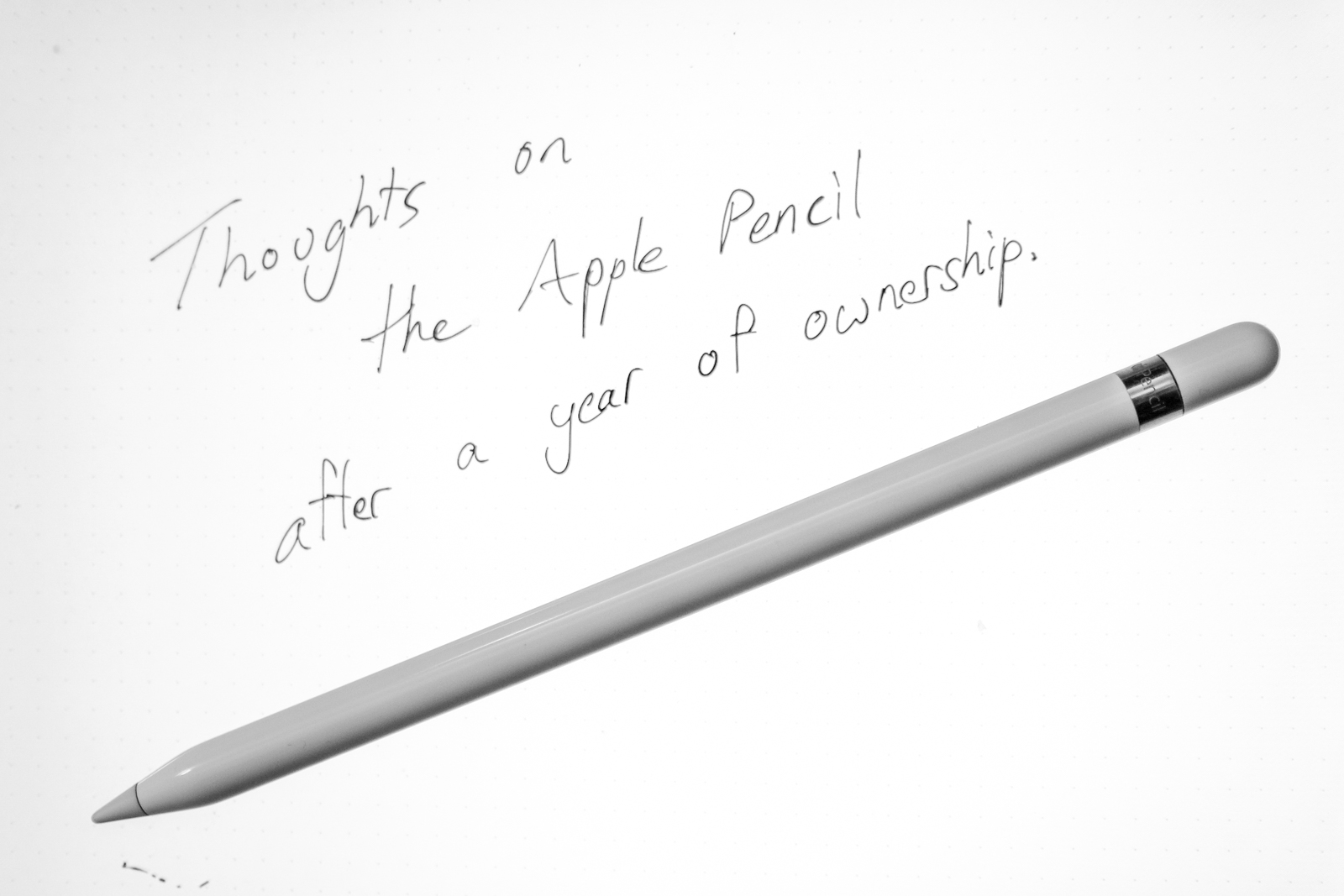 Reflecting On The Past Year of Apple Pencil Ownership