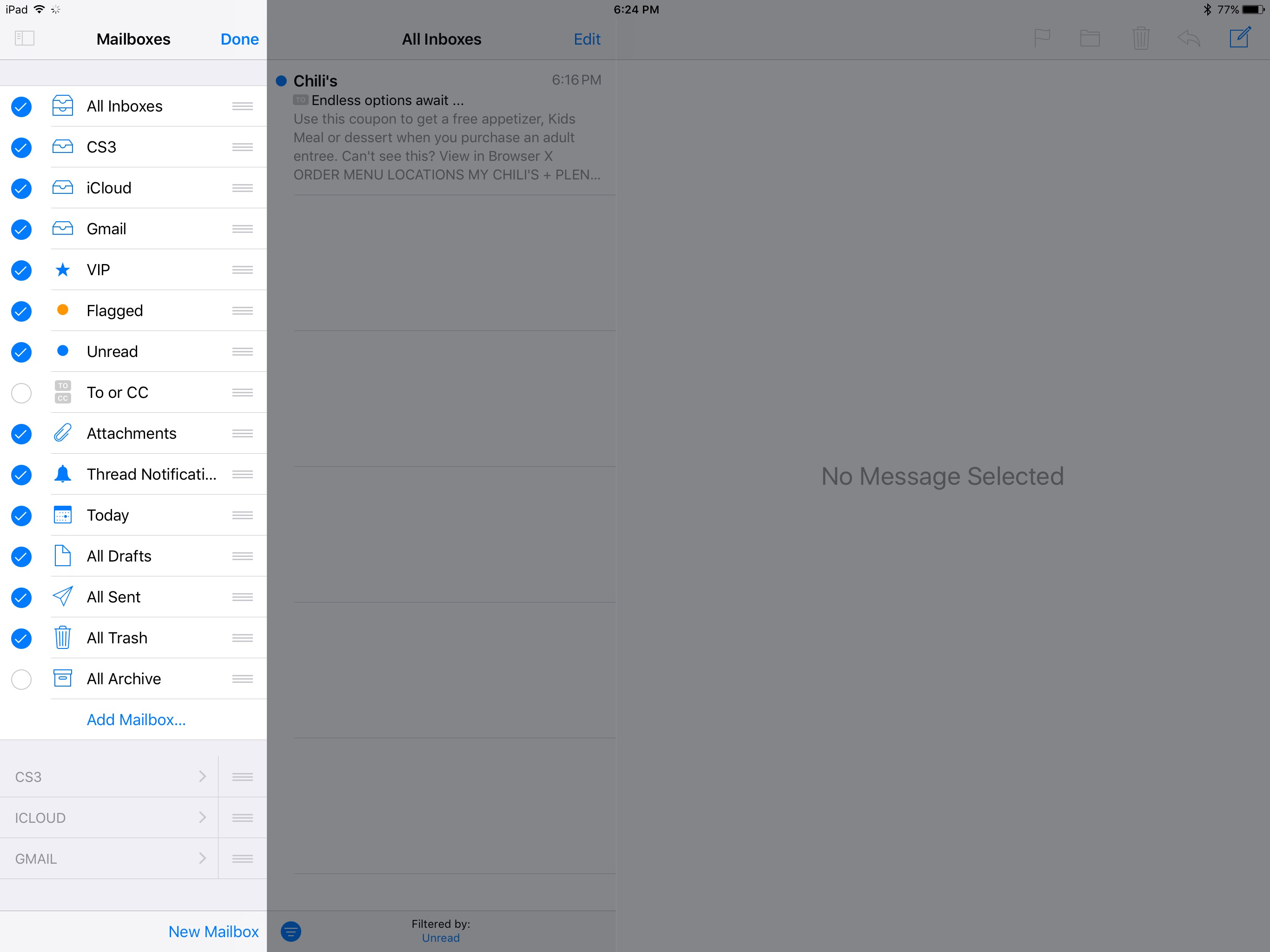 Going Native- Back to the Mail App