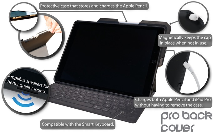 Cool Things: ProBack Cover for iPad Pro and Apple Pencil