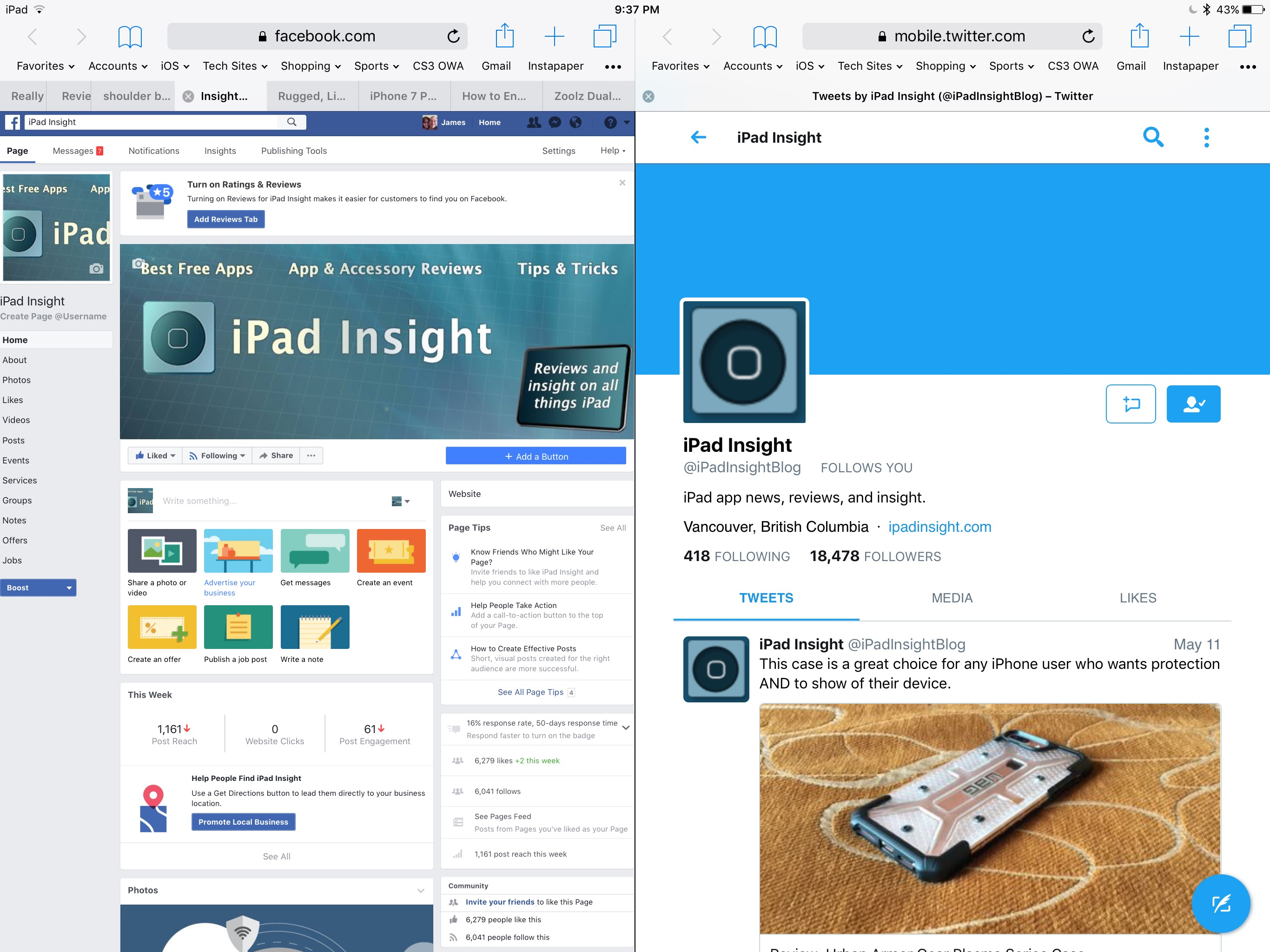 Tips and Tricks: Using Split-View in Safari on the iPad