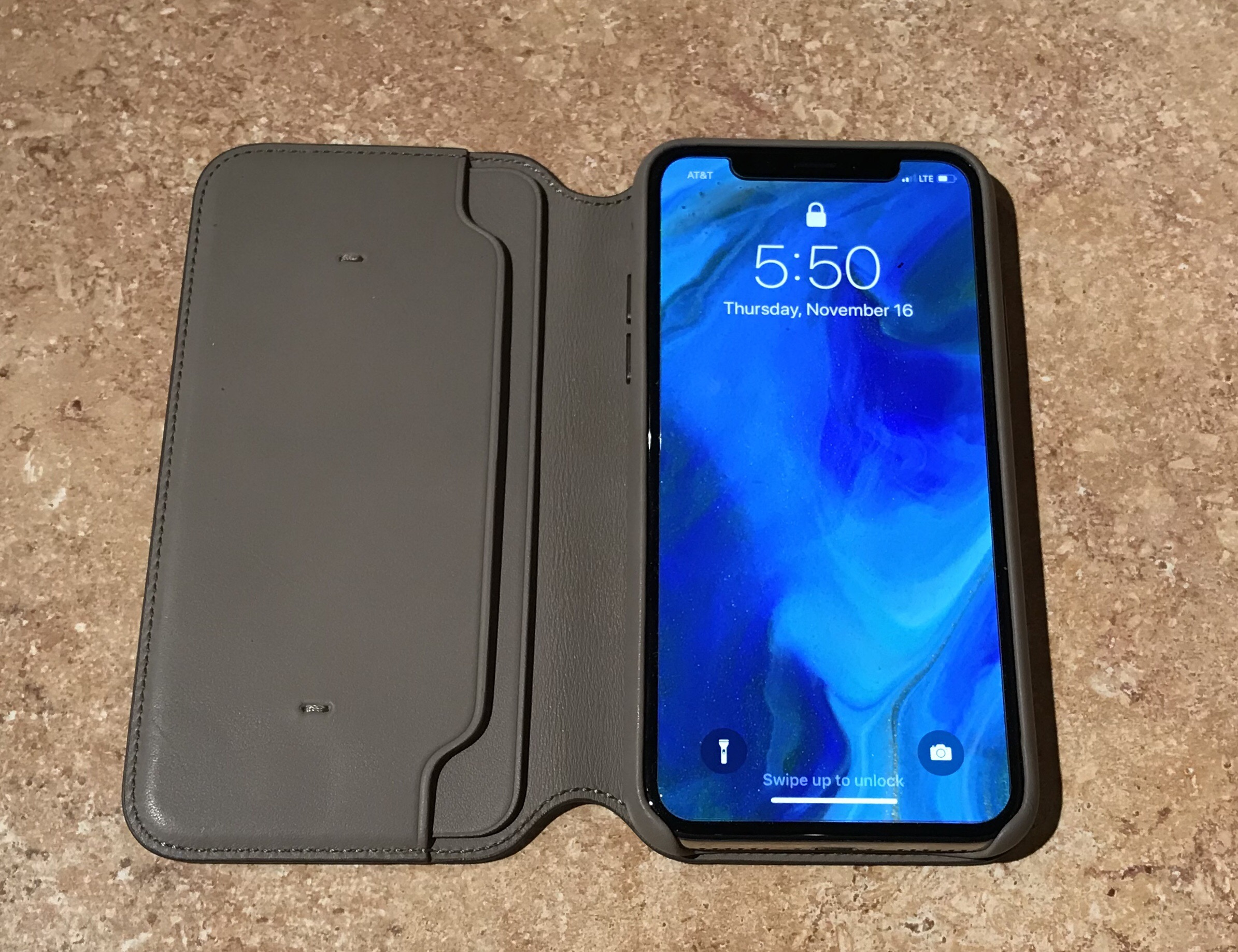 Review- Apple Leather Folio for the iPhone X | iPad Insight