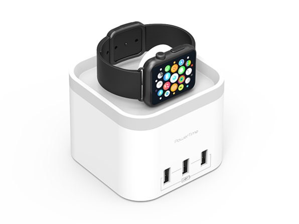 Deals: PowerTime Apple Watch Charging Dock with 3 USB Ports