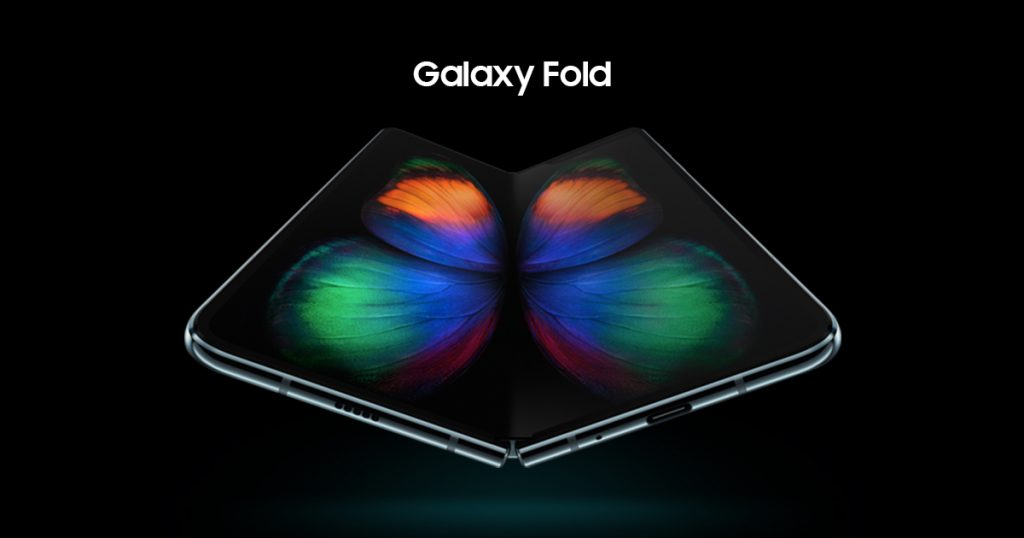 The Yin and Yang of the Galaxy Fold