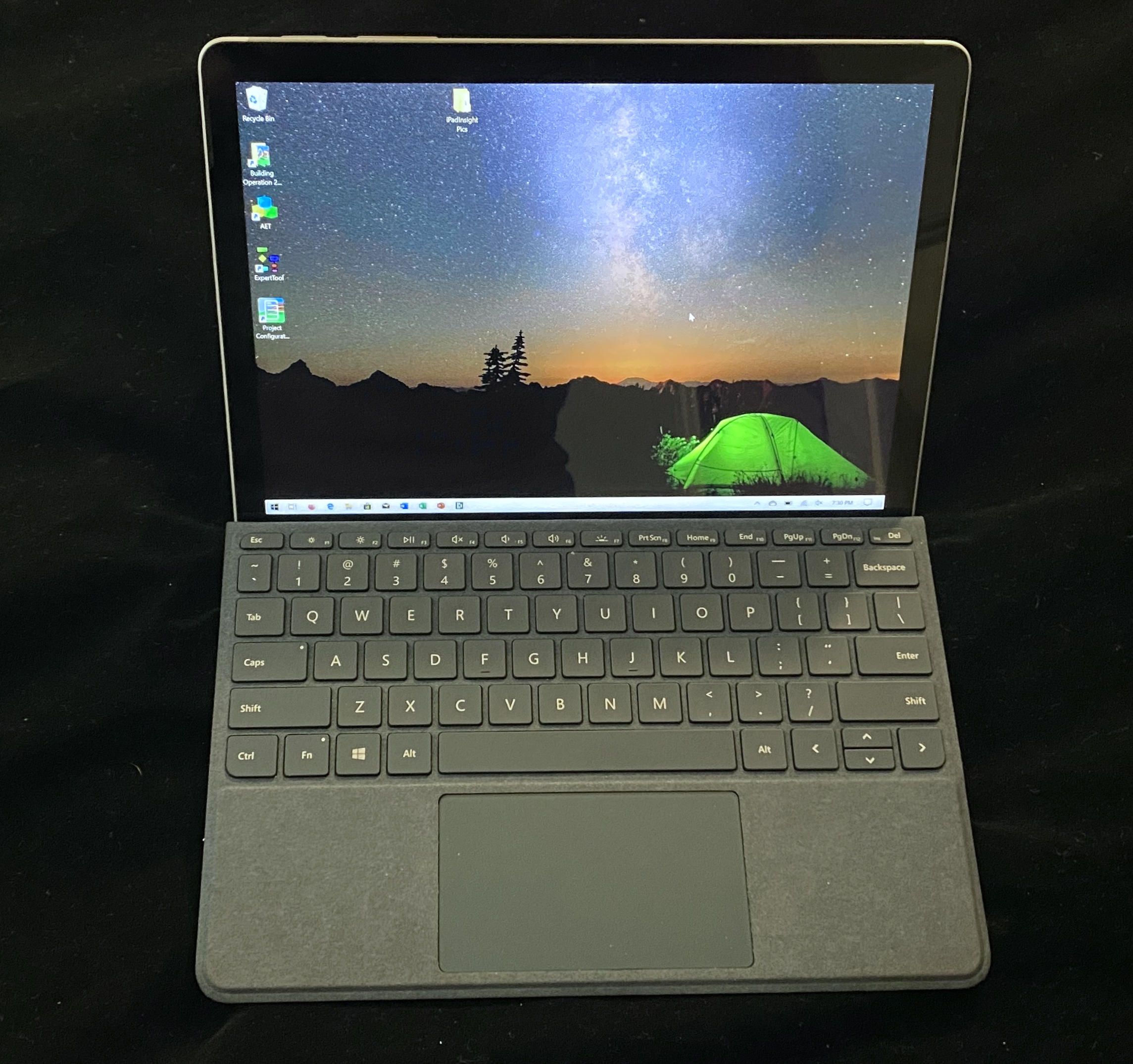 Surface Go 2 with Type Cover