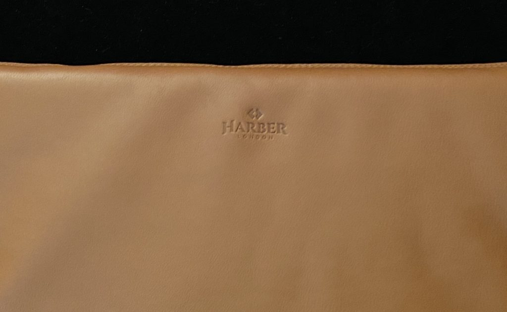 Harber London iPad Carry-All Folio Logo