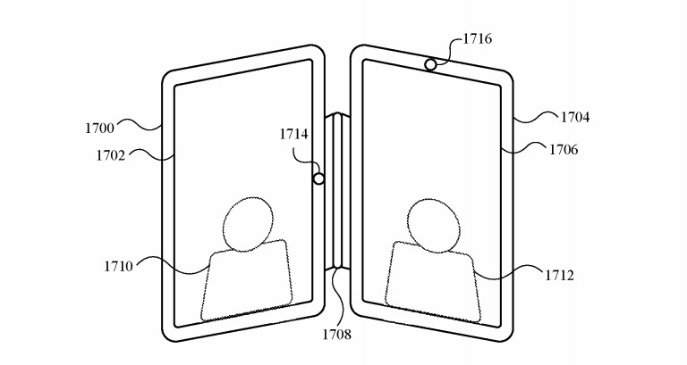 Apple Dual iPad Patent Portrait