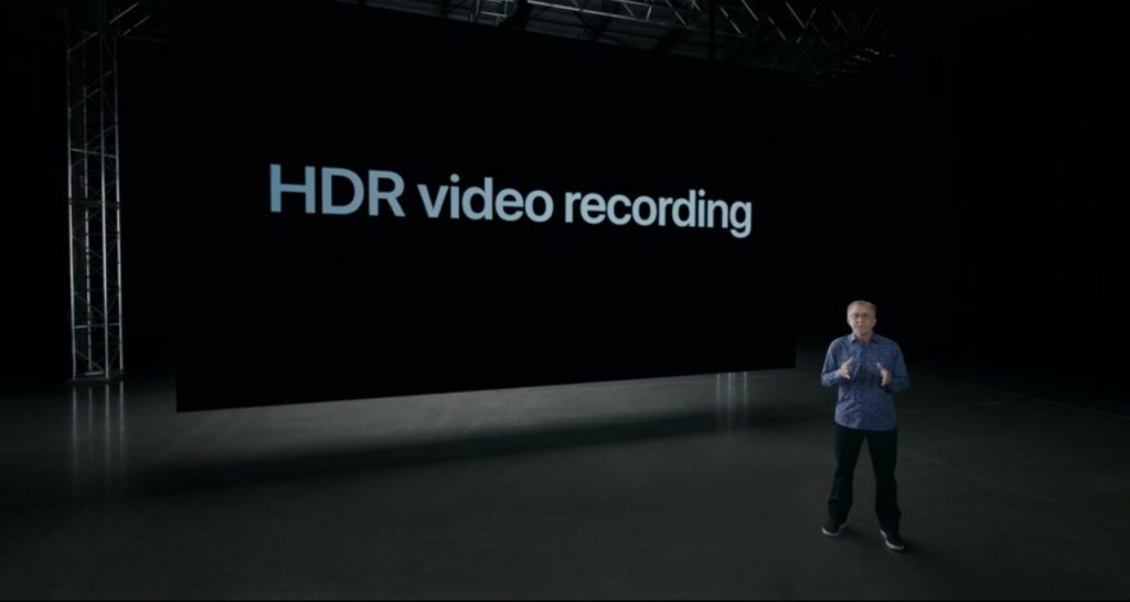 Apple iPhone 12 Pro HDR Video Recording