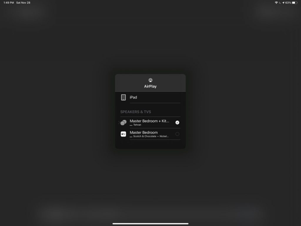 HomePods with AirPlay 2 Selection 2
