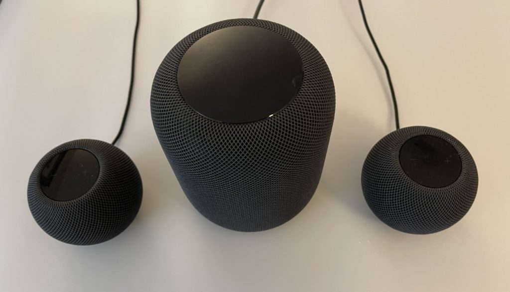HomePod and HomePod Minis