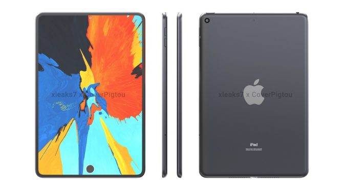 IPad Mini 6 CAD Rendering