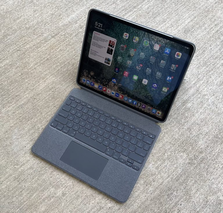 Review: Logitech Combo Touch Keyboard Case for iPad Pro ...