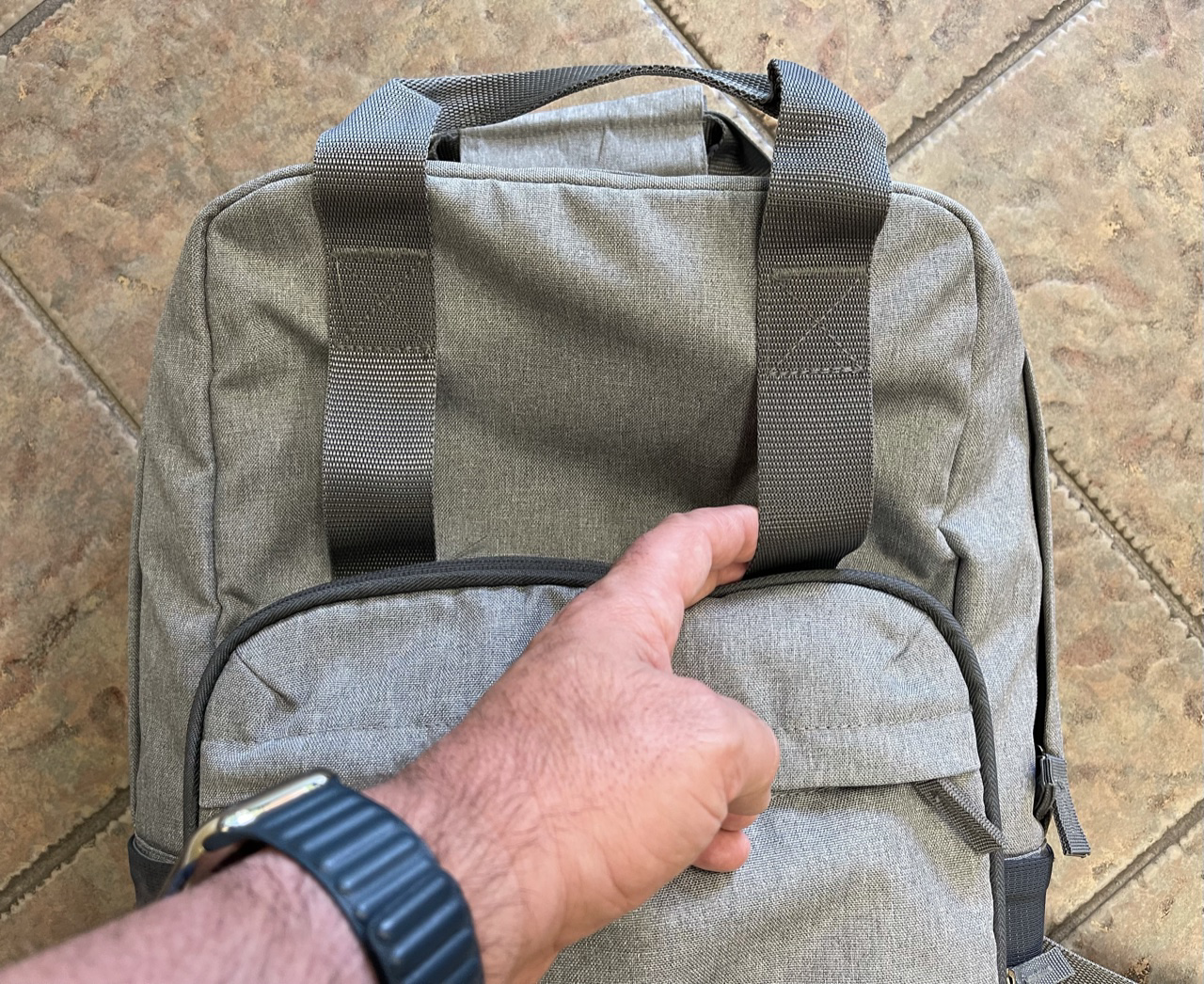 Re:claim Backpack Front straps