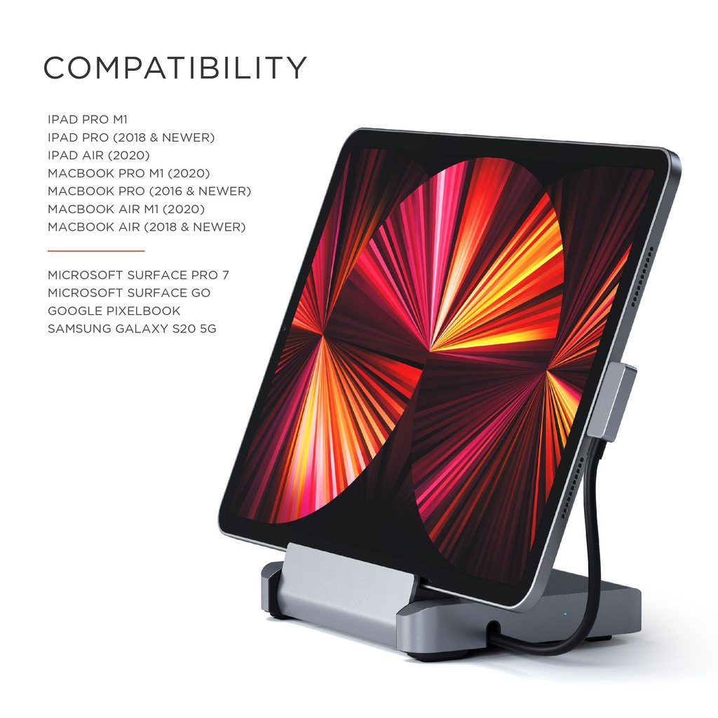Satechi Aluminum Stand and Hub Compatible Devices